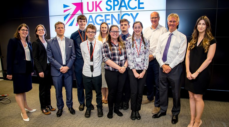 Team Higgs UK Space Agency