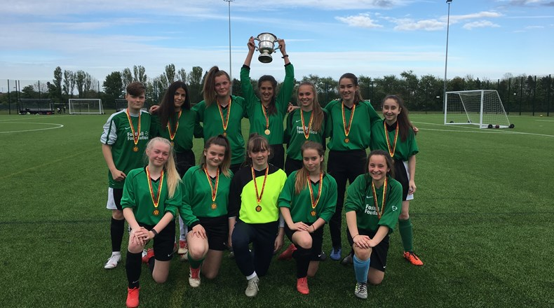 Girls win cup final!